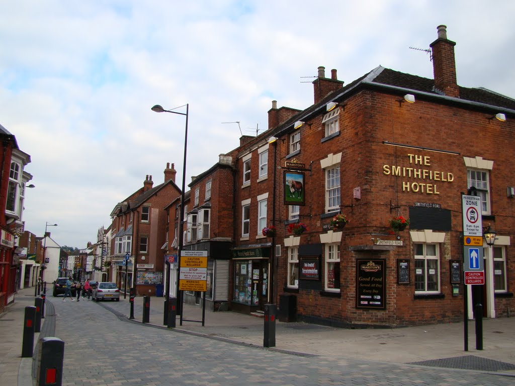 Uttoxeter, The Smithfield Hotel