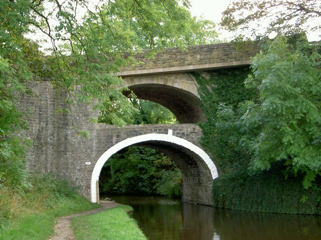 Double Bridge, East Marton, N.Yorkshire, England