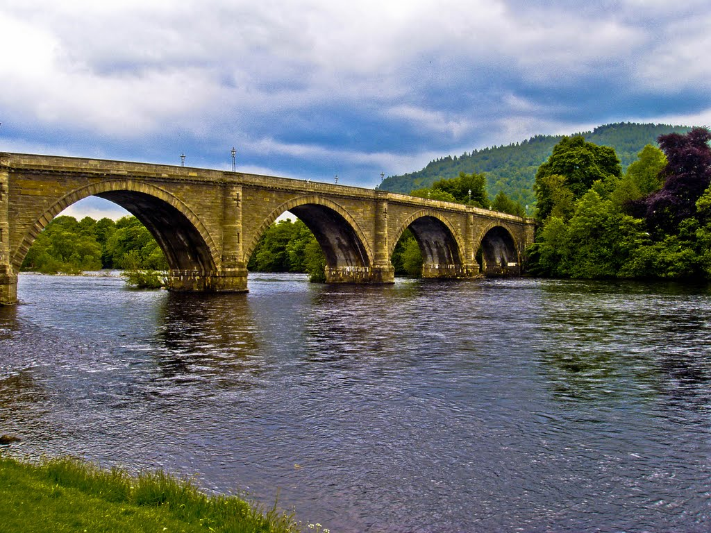 Dunkeld Bridge River Tay