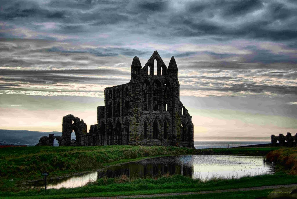 Whitby Abbey,Whitby,North Yorkshire,England