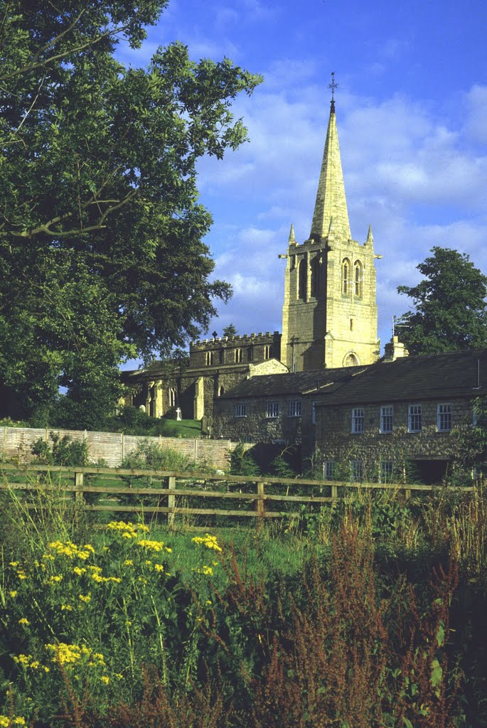 Yorkshire Churches (7): Kirk Deighton [UK]