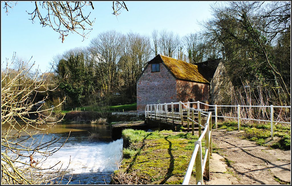 Sturminster Newton Water Mill.