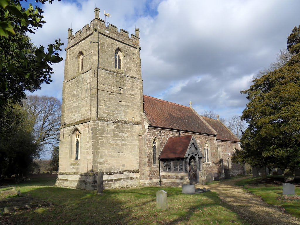 Shawell village church. All Saints LE17 6AW