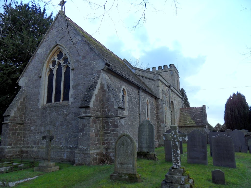 Ashby Parva village Church. St Peter. LE17 5HY