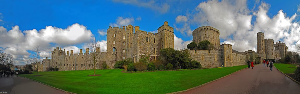 ENG (GBR) Windsor Castle BIGpanorama ~10V~ by KWOT