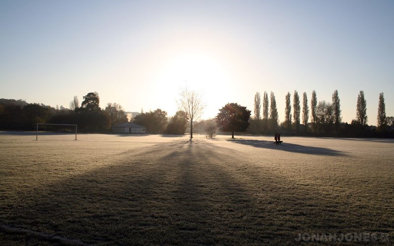 Winter morning at Ravensbourne park