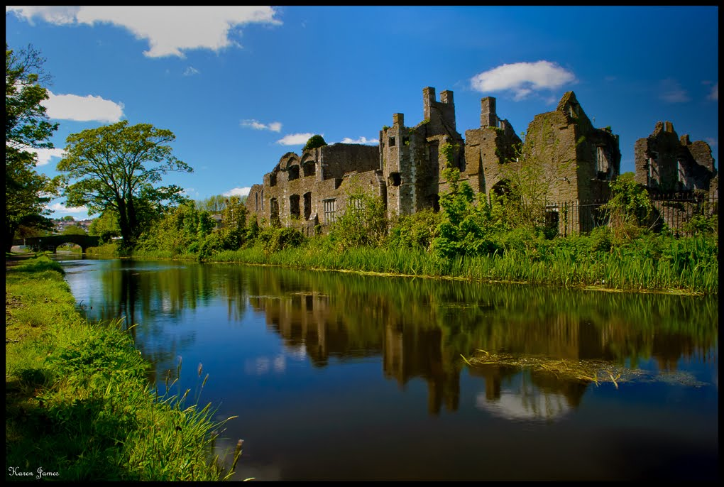 Reflections of Neath Abbey