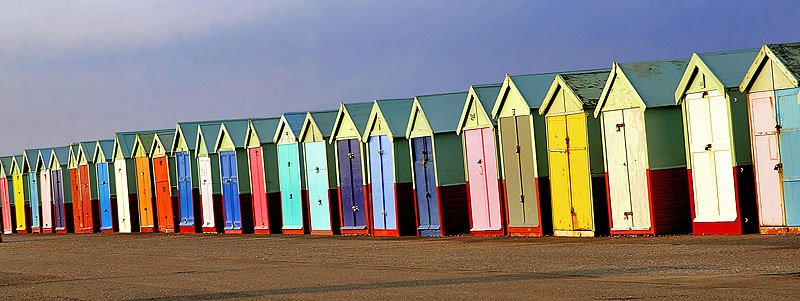 Beach Huts - Hove - Sussex - UK