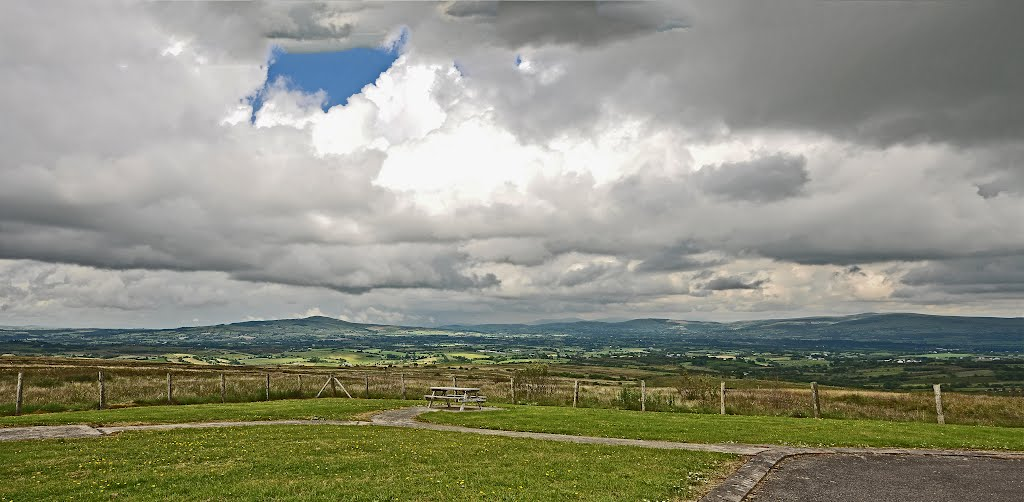 View from the Pigeon Top,Omagh,Co. Tyrone N.I.