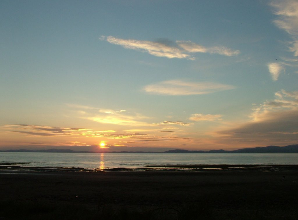 Sunset on the Solway Firth