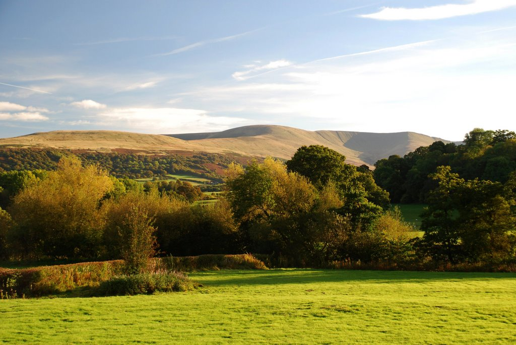 The Brecon Beacons in Autumn sunshine