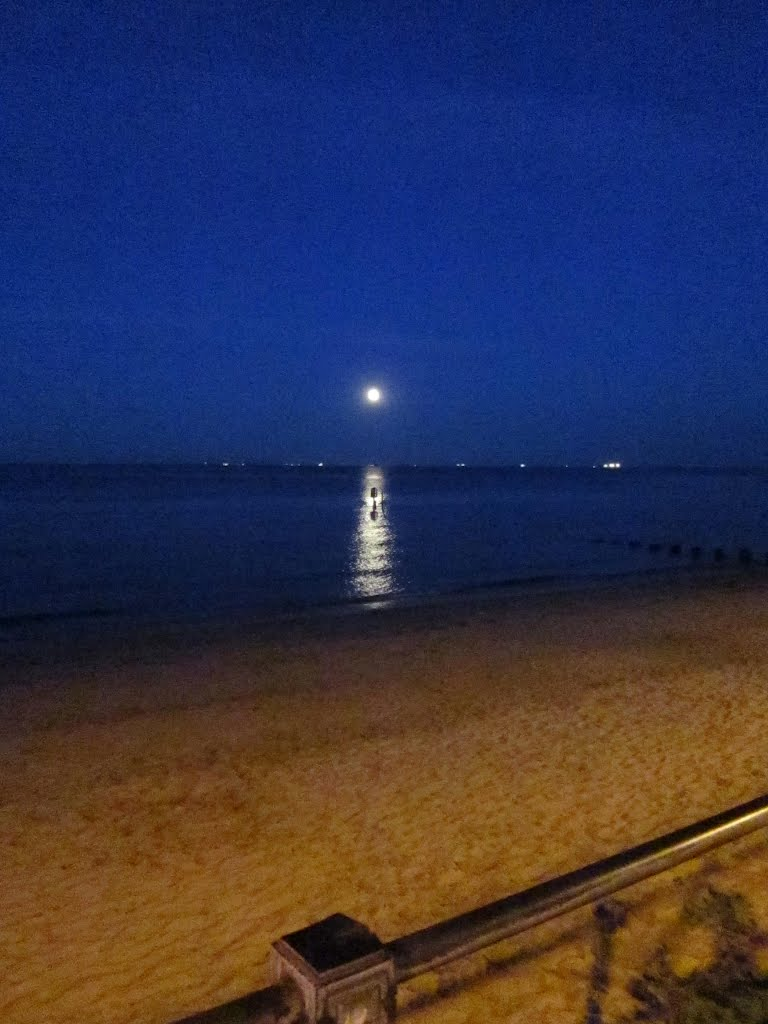 Moonrise over the Humber