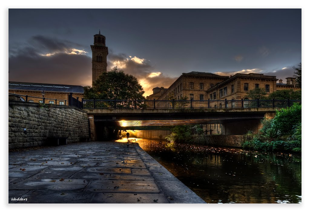 Dawn at Saltaire