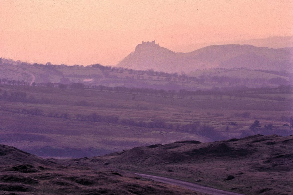 Carreg Cennen Castle at Sunrise