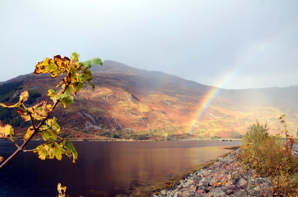 Rainbow Light on Loch Duich