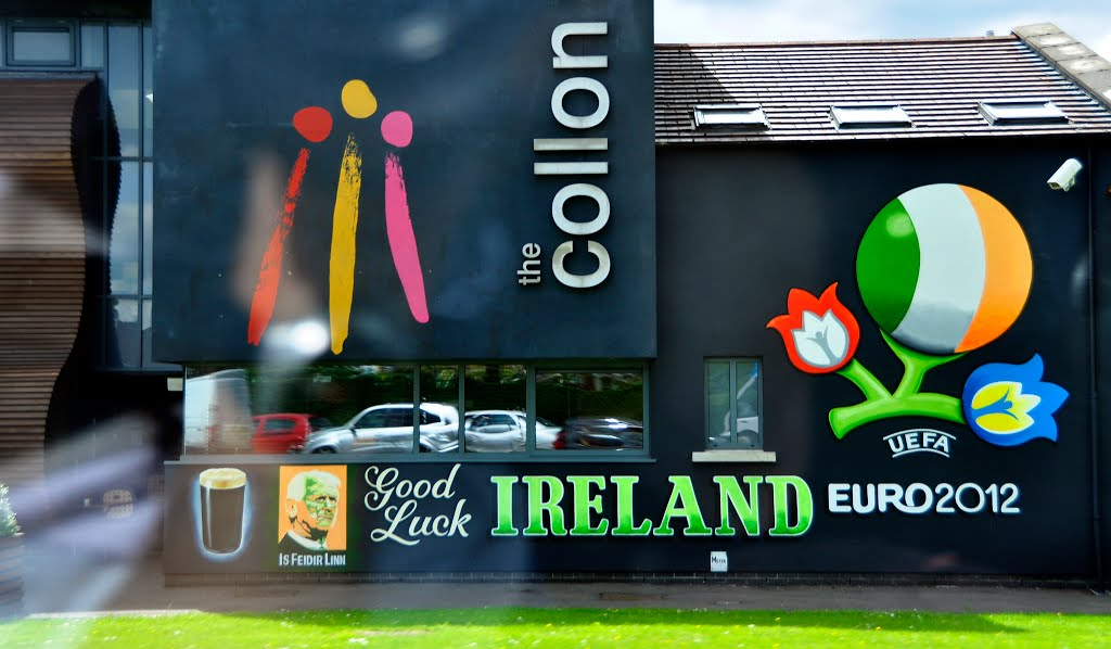 Northern Ireland. Derry~Londonderry. The EURO2012 @ the Collon! Even in 2013 :)