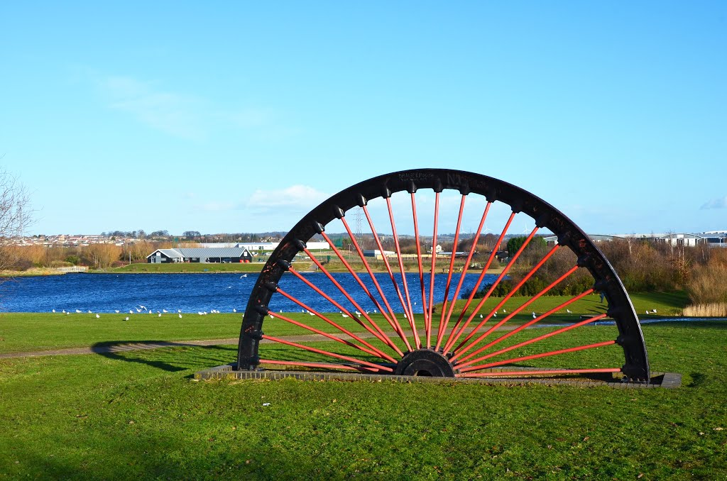 Wheel at Manvers Lake