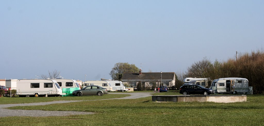 Sandycove Touring Site. April 2006