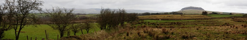 Slemish Mountain Panorama