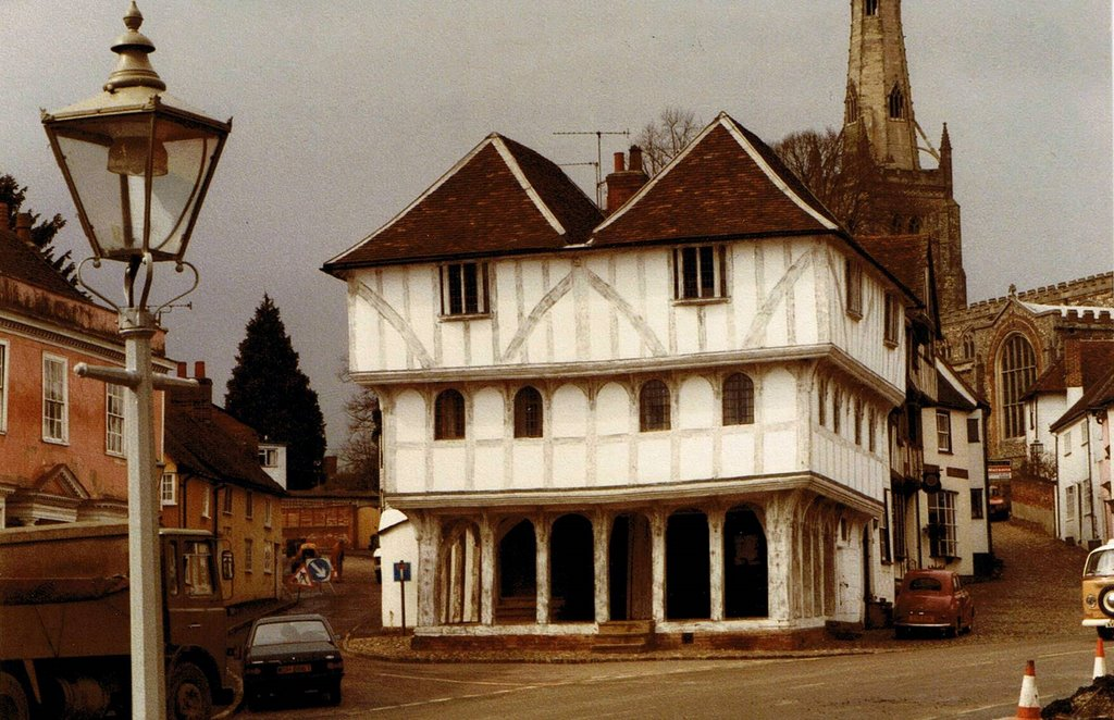 Thaxted. The Guildhall. 1985