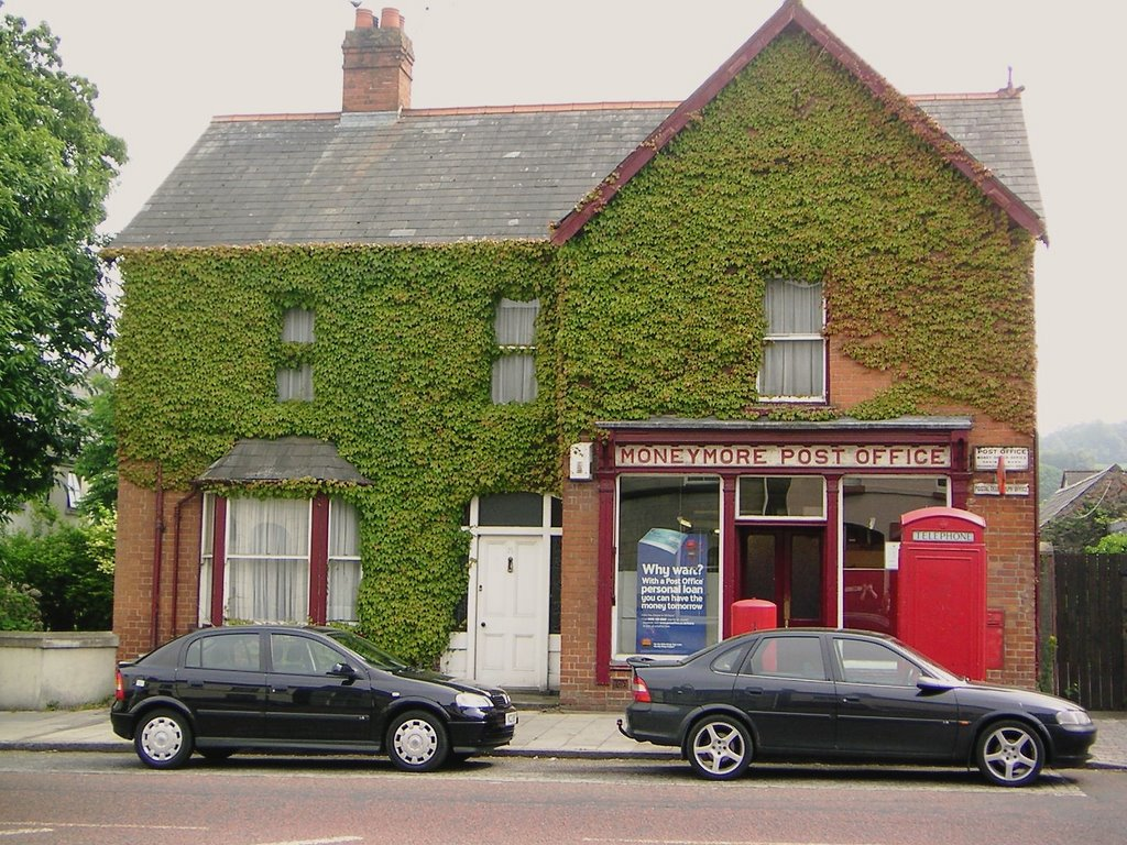 post office, moneymore