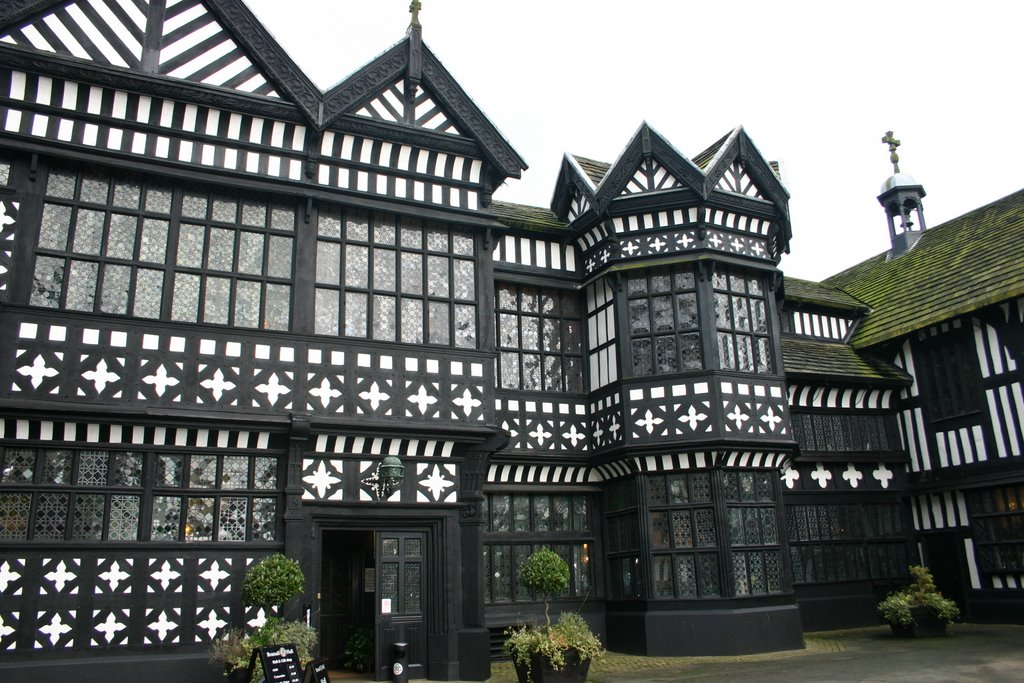 Entrance to Bramall Hall