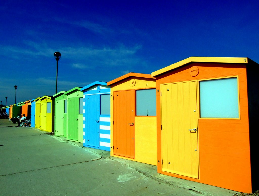 Seaford Huts, Sussex