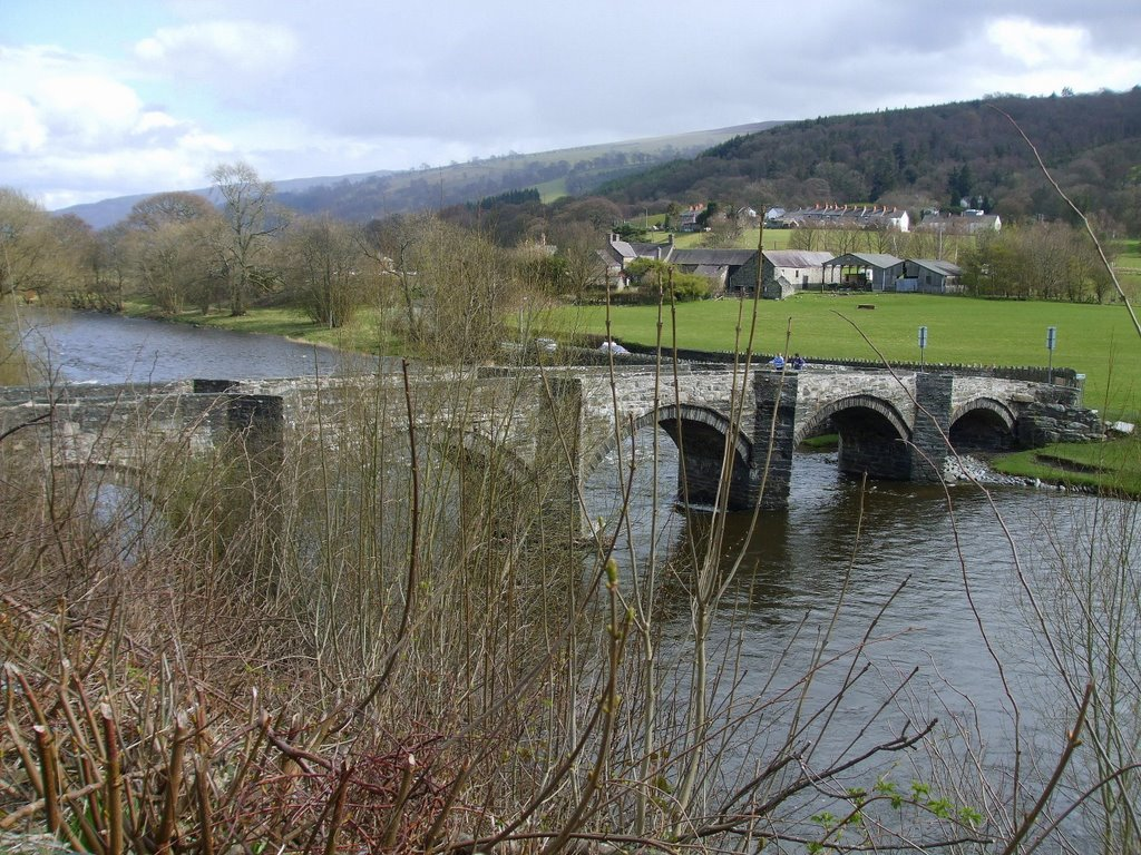 Bridge over R. Dee at Carrog