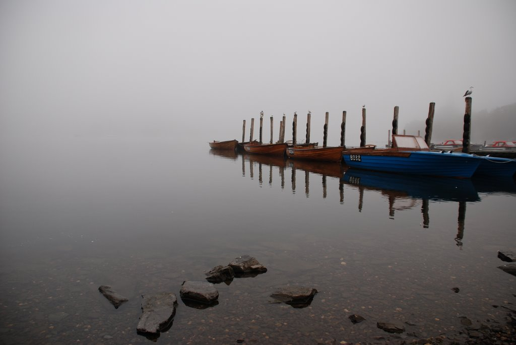 Lake Windermere - Misty morning