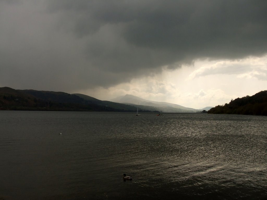 Clouds over Llyn Tegid